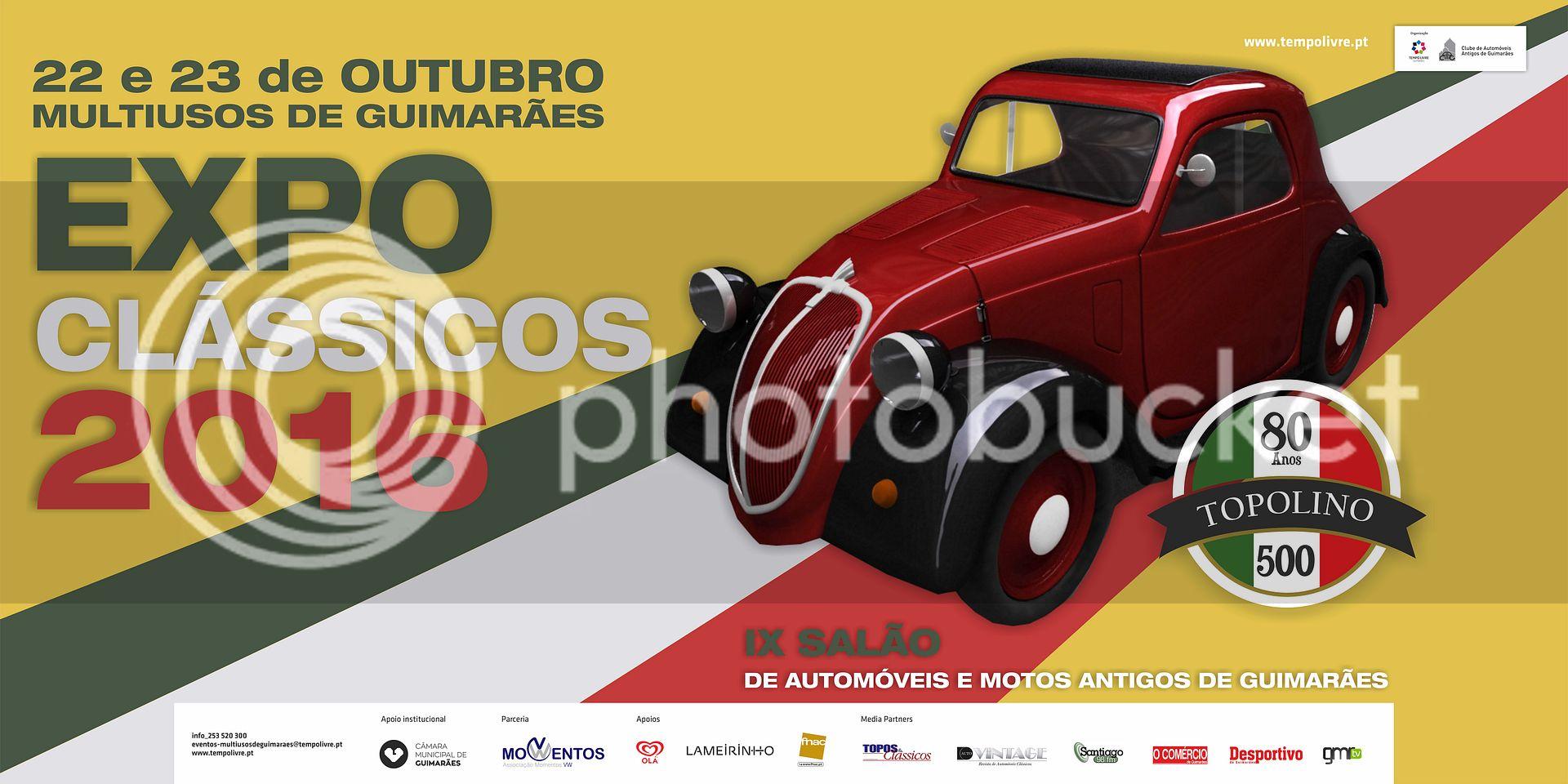 EXPO Clássicos 2016 - 22 e 23 outubro - Multiusos de Guimarães ExpoClassicos2016_02_zpststzqk4h
