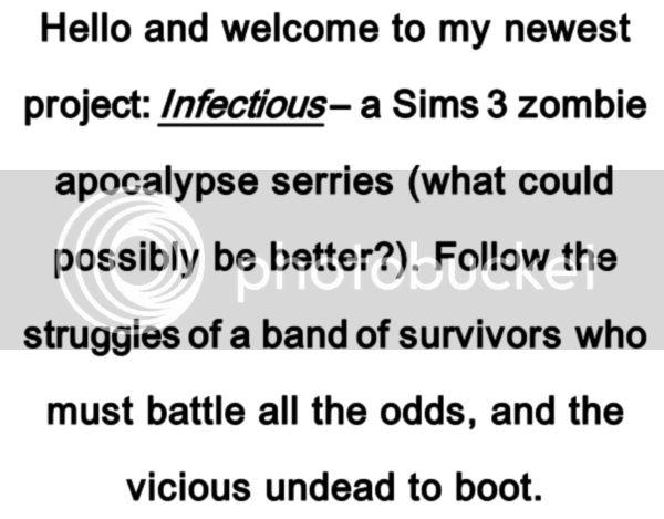 INFECTIOUS - New Zombie Apocalypse Series :] Intro-1