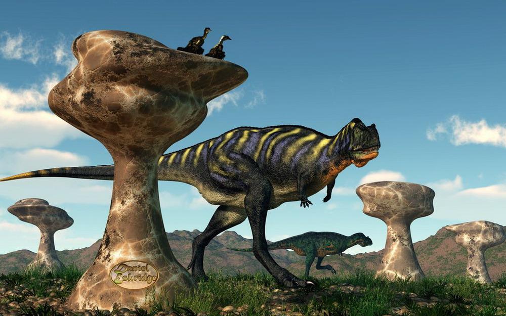 Hình ảnh tuyệt đẹp về thế giới loài khủng long Redsvn-Dinosaur2-06