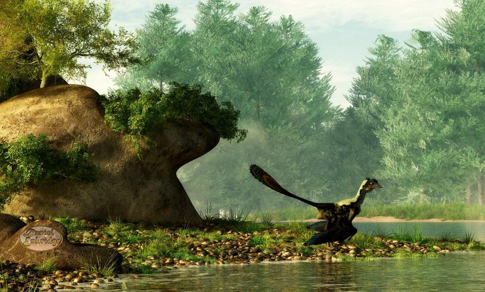 Hình ảnh tuyệt đẹp về thế giới loài khủng long Redsvn-Dinosaur2-12