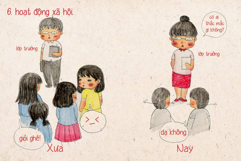 Sự khác biệt giữa con gái xưa và nay 6_zing