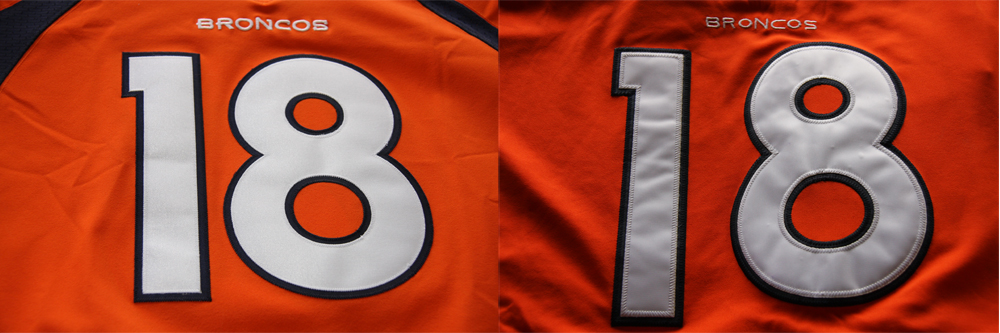 Real Vs Fake - 2012 Nike Elite Jersey Comparison FrontComparison
