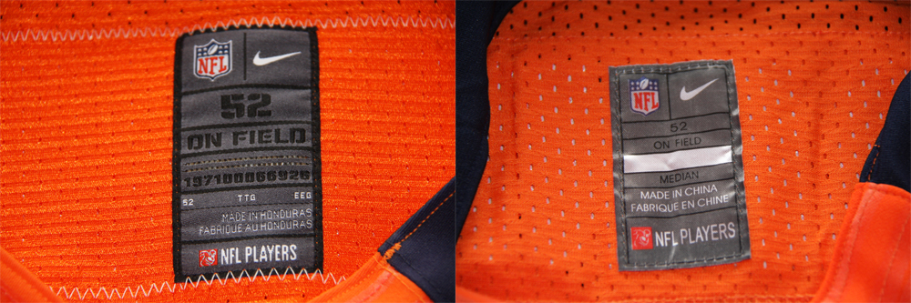 Real Vs Fake - 2012 Nike Elite Jersey Comparison NeckTagComparison
