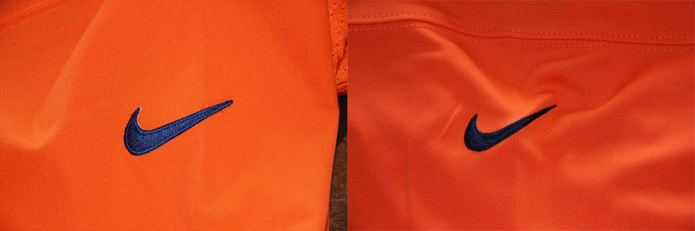 Real Vs Fake - 2012 Nike Elite Jersey Comparison SwooshComparison