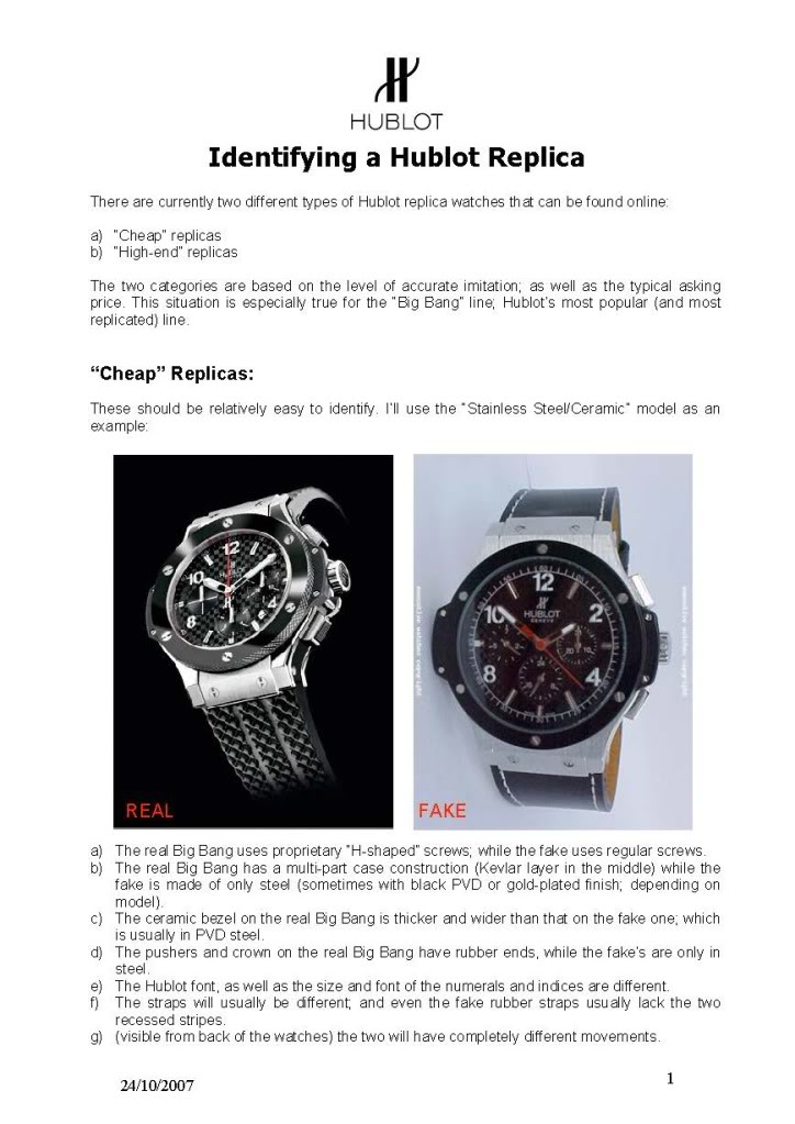 How to spot a fake Hublot Big Bang... HowtoSpotaFakeHublot_Page_1