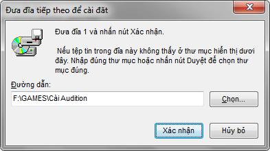  FAQ Audition - Tổng hợp các lỗi thường gặp GUIDE03
