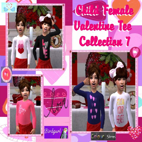 Colour Sims [February 2014] ChildFemaleValentineTeeCollection7banner_zps6e2dc308