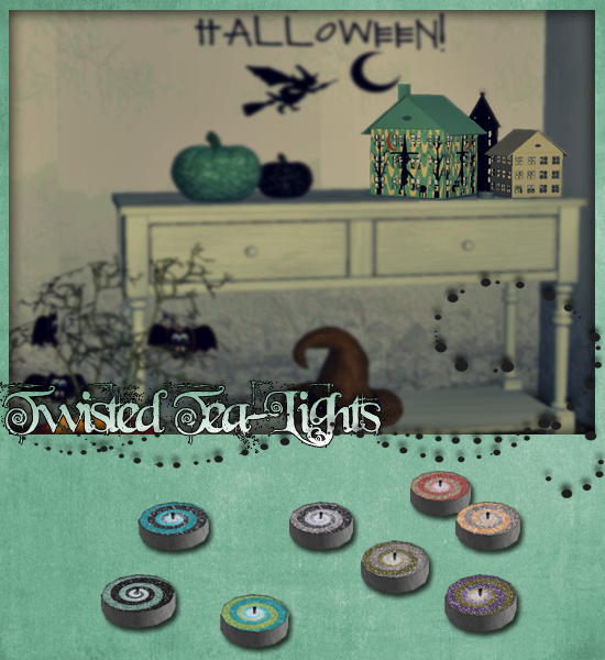 Colour Sims - Halloween's Special TTL-Pic1