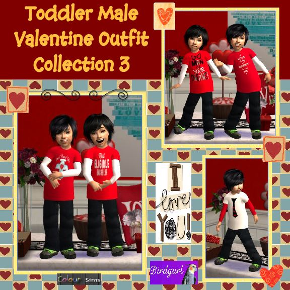 Colour Sims [February 2014] ToddlerMaleValentineOutfitCollection3banner_zps1bd82b71