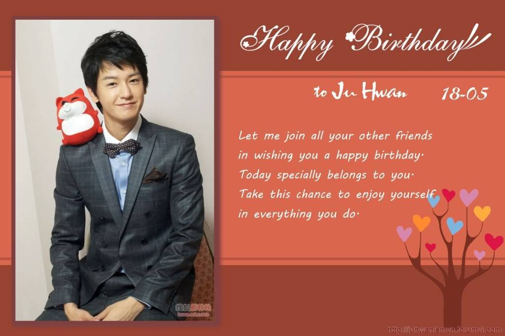 Happy 30th birthday to Ju Hwan Page01