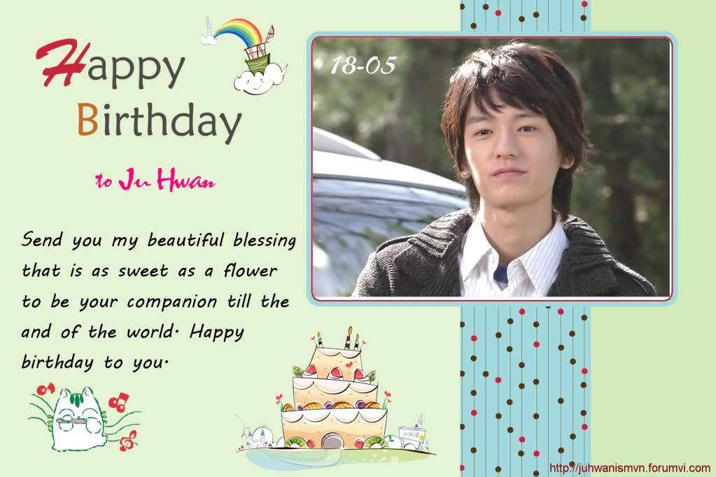 Happy 30th birthday to Ju Hwan Page06