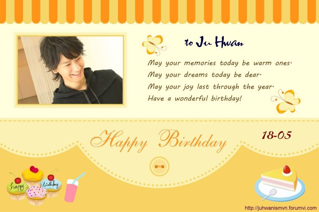 Happy 30th birthday to Ju Hwan Page08