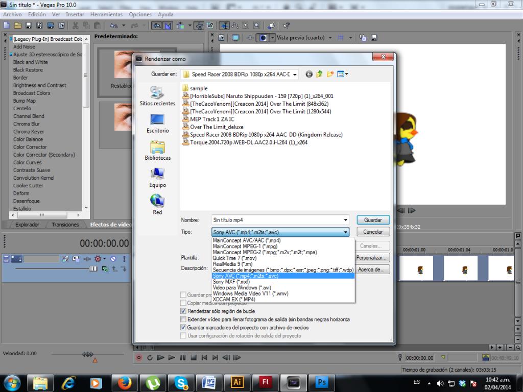 Renderizar HD ligero en SOny vegas sin necesidad de otro programa 2_zpse1f64b6a