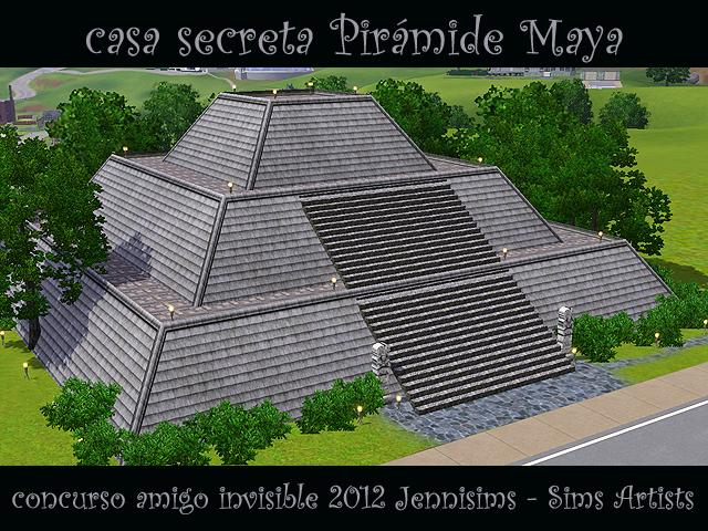 """SIMS ARTISTS  Y  JENNISIMS En el """"Amigo Invisible"""" MAGIC NIGHT - Página 2 Sw_concursoAmigoInvisible2012_casasecretaPiramideMaya"""