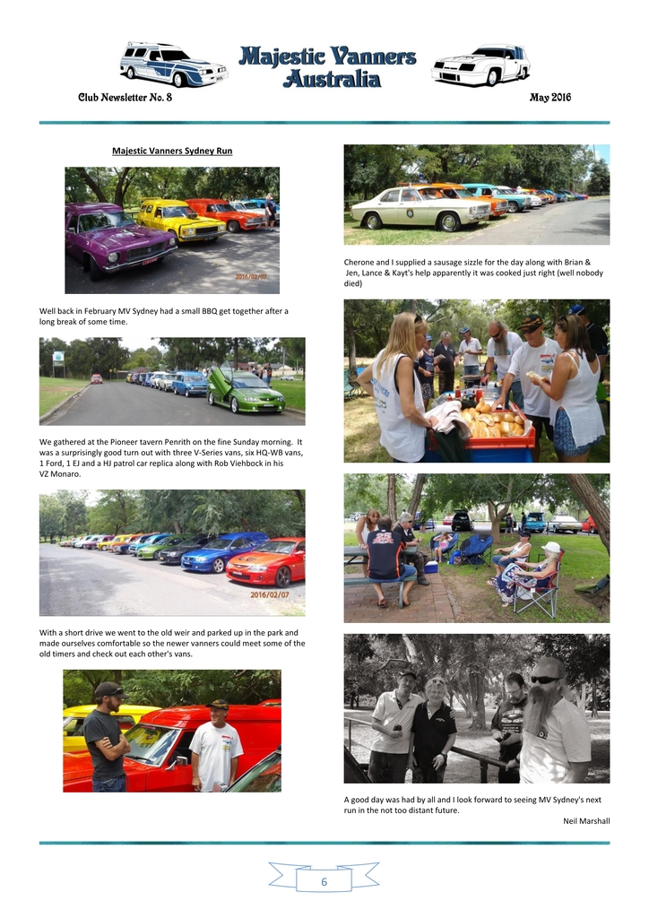 Majestic Vanners Newsletter Issue No. 8 May 2016 06_zpsv8d4oij7