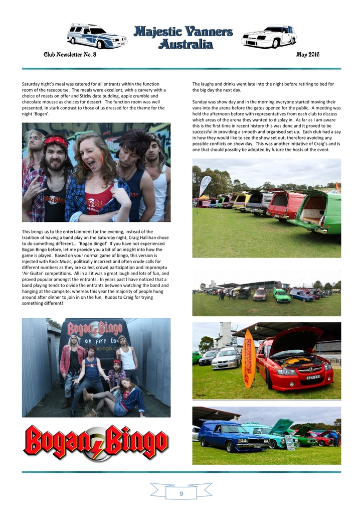 Majestic Vanners Newsletter Issue No. 8 May 2016 09_zpsxjhw60j8
