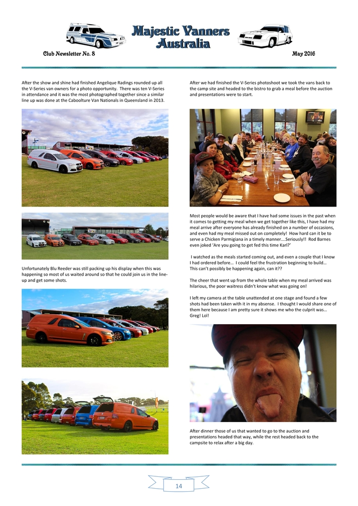 Majestic Vanners Newsletter Issue No. 8 May 2016 14_zpsnczve30e
