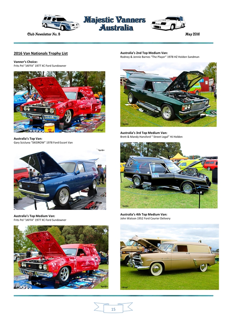 Majestic Vanners Newsletter Issue No. 8 May 2016 15_zpsdsisckfz