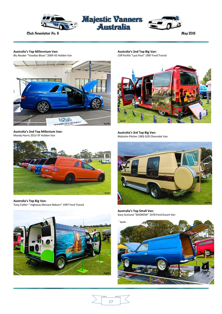 Majestic Vanners Newsletter Issue No. 8 May 2016 17_zpspvthh0pa