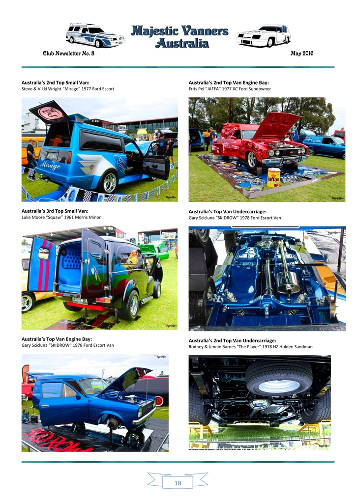 Majestic Vanners Newsletter Issue No. 8 May 2016 18_zps50trjvxh