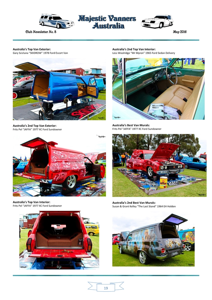 Majestic Vanners Newsletter Issue No. 8 May 2016 19_zps7wdsrcn0