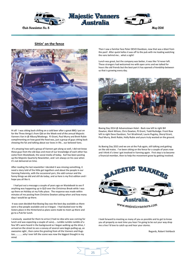 Majestic Vanners Newsletter Issue No. 8 May 2016 25_zpsl49rhevk