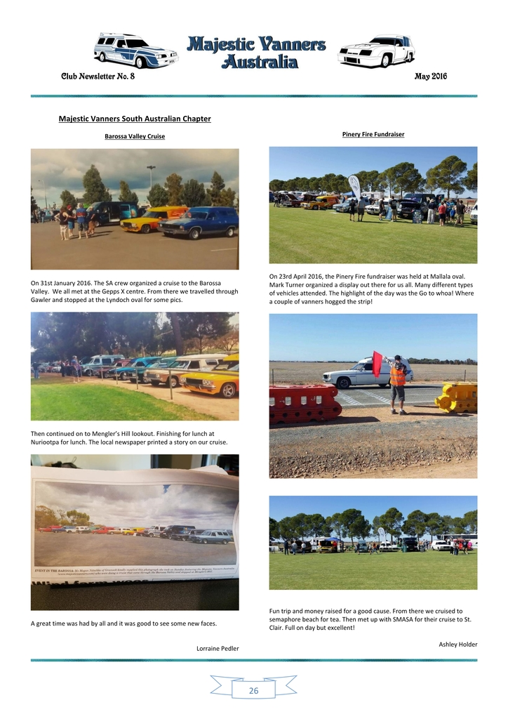 Majestic Vanners Newsletter Issue No. 8 May 2016 26_zpsfrlvuob2