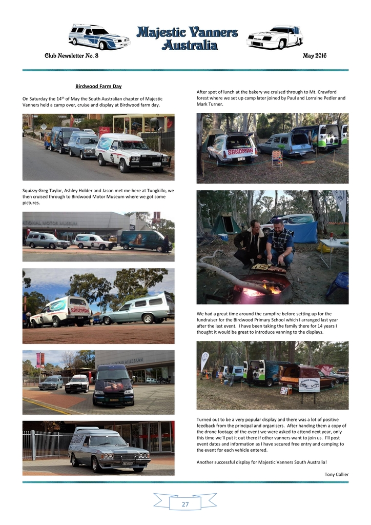 Majestic Vanners Newsletter Issue No. 8 May 2016 27_zpsgxbpjjbg