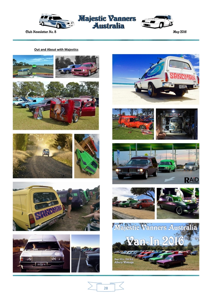 Majestic Vanners Newsletter Issue No. 8 May 2016 28_zps4g8l9whf