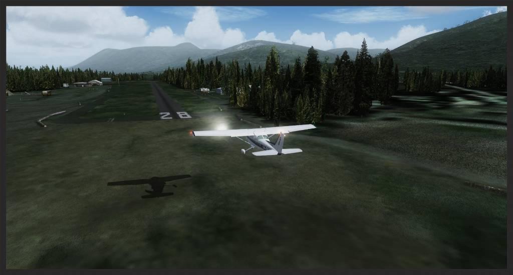 Diamond Point Airstrip / Darrington Municipal Cessna22_zpse7f5925c