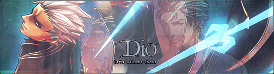 Dio, nobody knows his real name Dio_sig