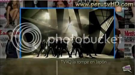 """PROGRAMA """"Cinescape"""" de Perú - TVXQ #1 en los Charts Japoneses por las Pre-ordenes de """"Android"""" (02/06/2012) Tyhtyhyth"""