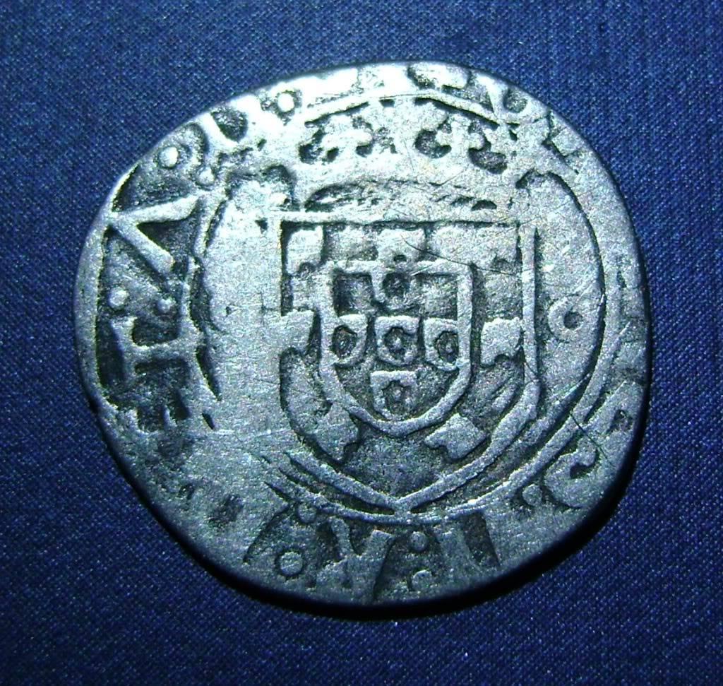 Vintem de D. Juan II (Lisboa, 1481-1495). G