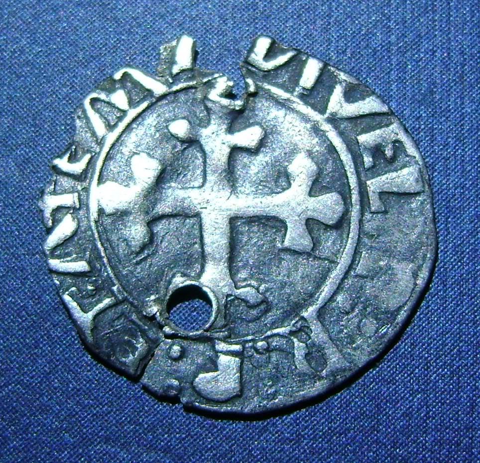Medio Vintem de D. Manuel I (Oporto, 1495-1521). O1