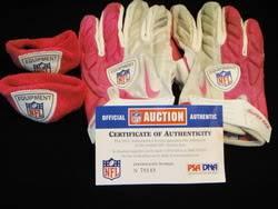 Patriots Game Worn Gloves & Armbands Img10721420med
