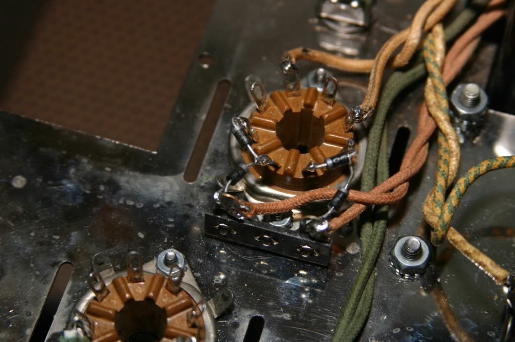 "tube rectifier ""yellow sheet"" diode mod DiodeModMainstoTerminalBoardtoValveSocket"
