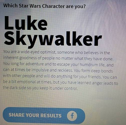 Which Stars Wars character are you? 16409115_1347721611961739_819409337_o_zpsvzivweev
