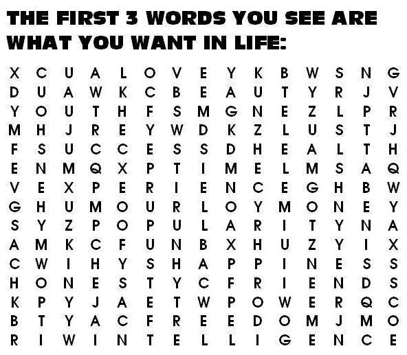 First 3 Words you see. 3words_zpsb5620735