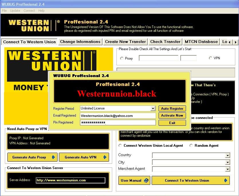 SELL CVV VISA MASTER - TRACK 1/2 + PIN - PAYPAL VERIFIED - SOFTWARE  WUSOFTWARE2012_zpsbe080716