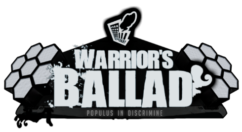 Warrior's Ballad: Populus in Discrimine Logo
