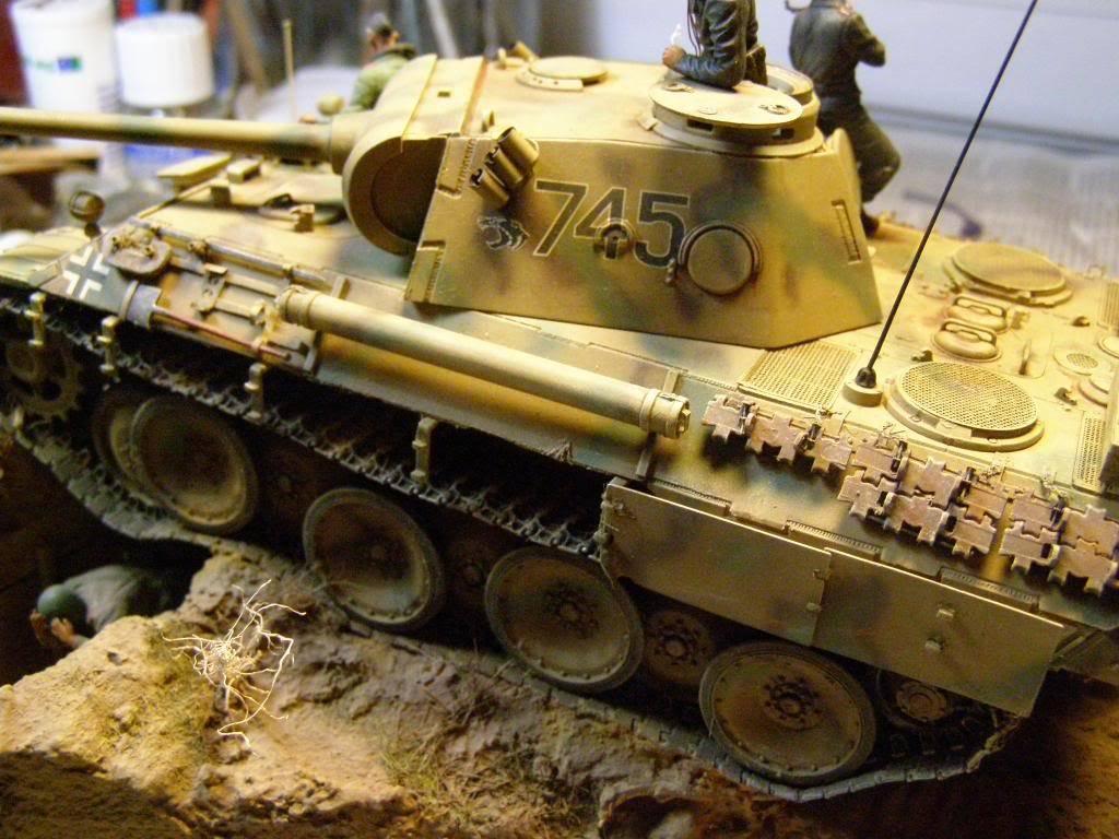 "panther ausfD της dragon στην 1/35 ""το ντεμπούτο Κουρσκ 7/7/1943""  P1130089_zps99b10d04"