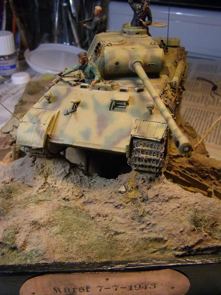 "panther ausfD της dragon στην 1/35 ""το ντεμπούτο Κουρσκ 7/7/1943""  P1130093_zps11a8d55c"