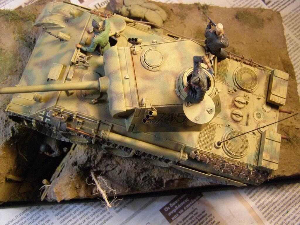 "panther ausfD της dragon στην 1/35 ""το ντεμπούτο Κουρσκ 7/7/1943""  P1130095_zpscd70ff69"
