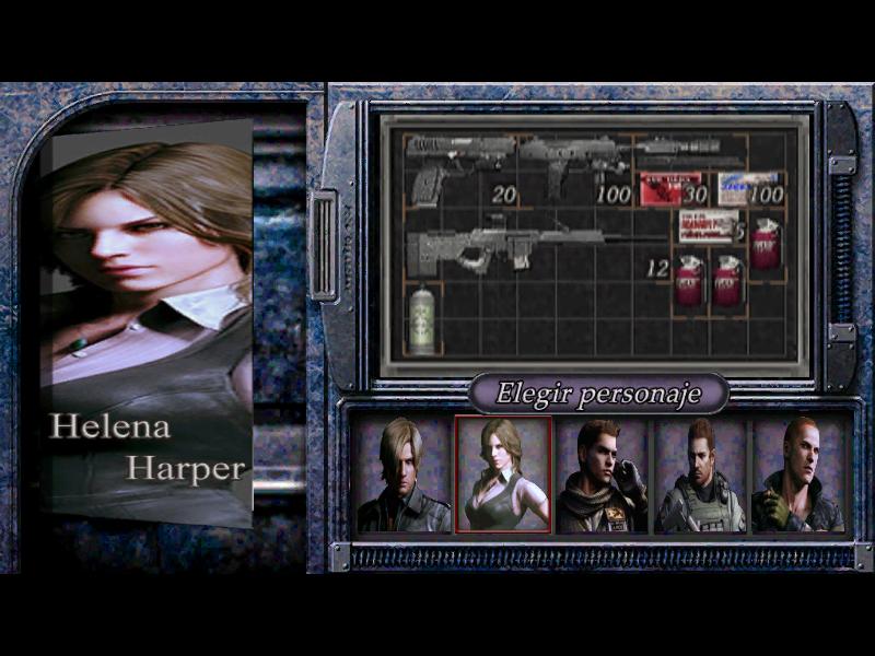 Menu Mercenaries Estilo Re6 Texmod. Game2012-12-2220-01-31-26