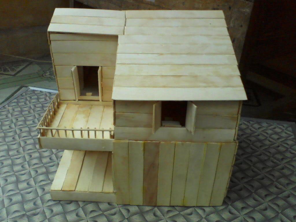 Lần làm handmade thứ hai - Mô hình nhà P17-03-12_1106
