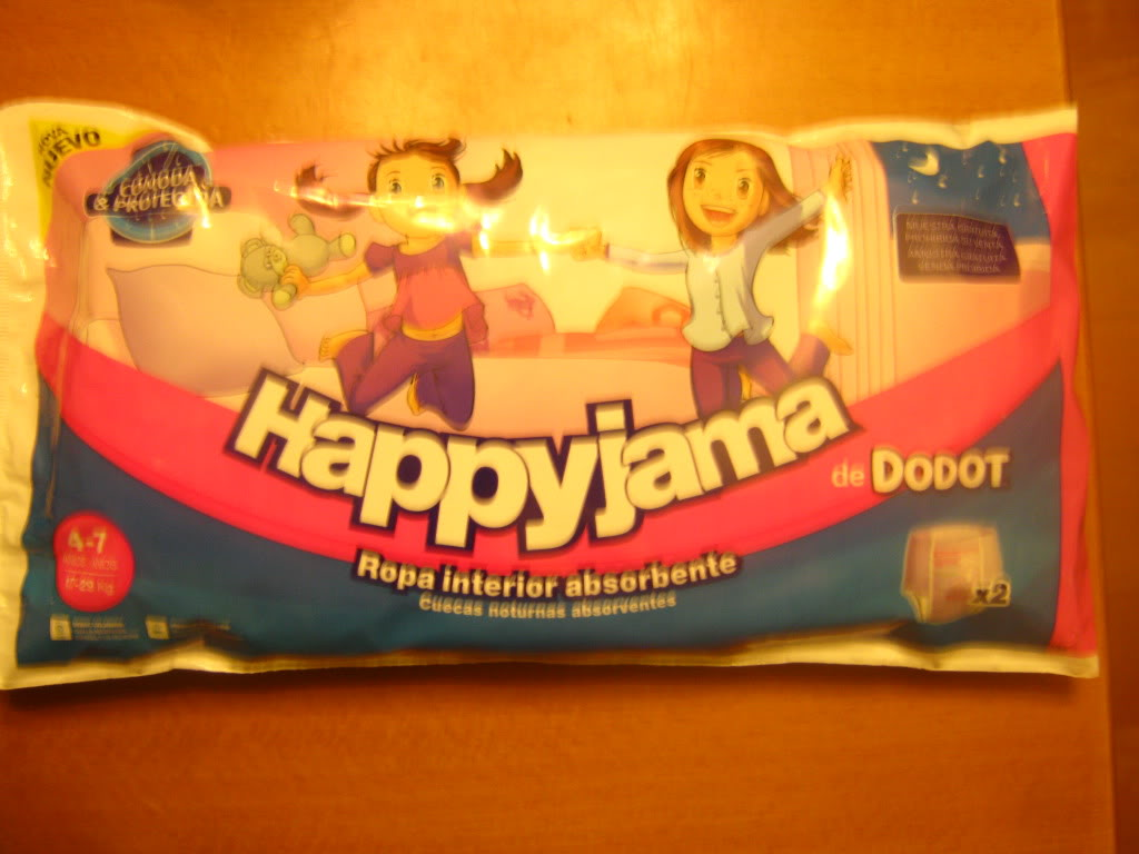 Amostra  Happyjama - Fraldas - (Recebido)  IMG_3421