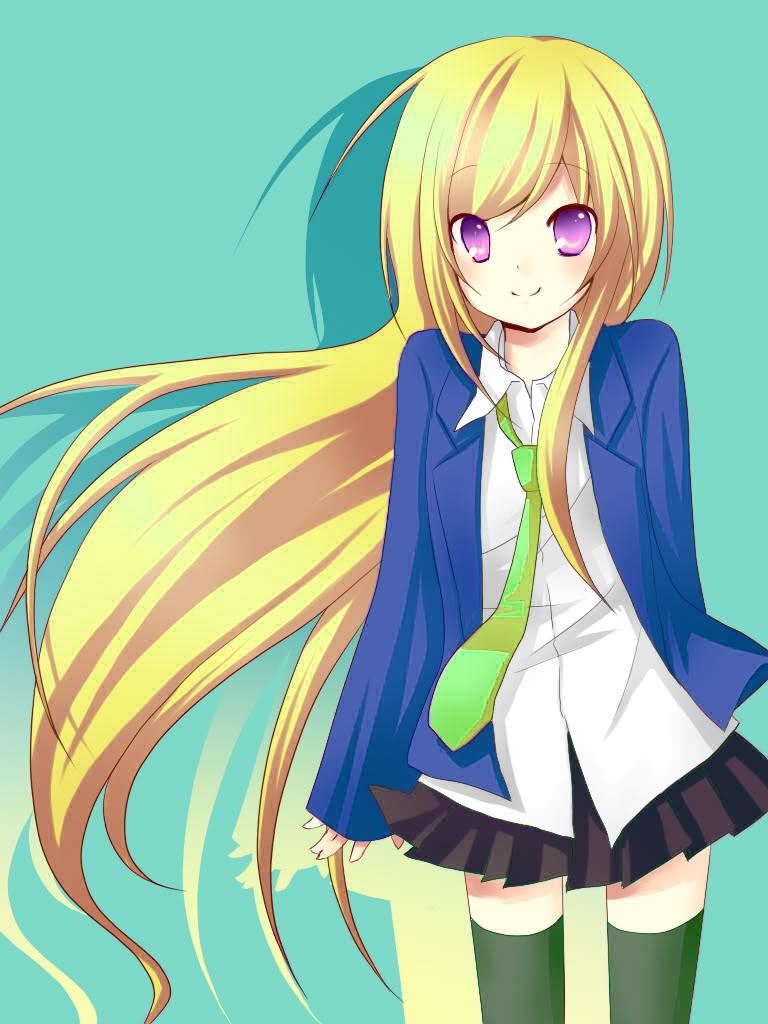 Sanae Matsumoto Blonde_anime_girl_by_IblisBlaser