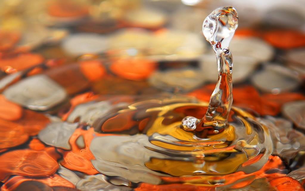 Water Drops HD Desktop Wallpapers Ws_Orange_water_drop_1680x1050_zpsafcce70d