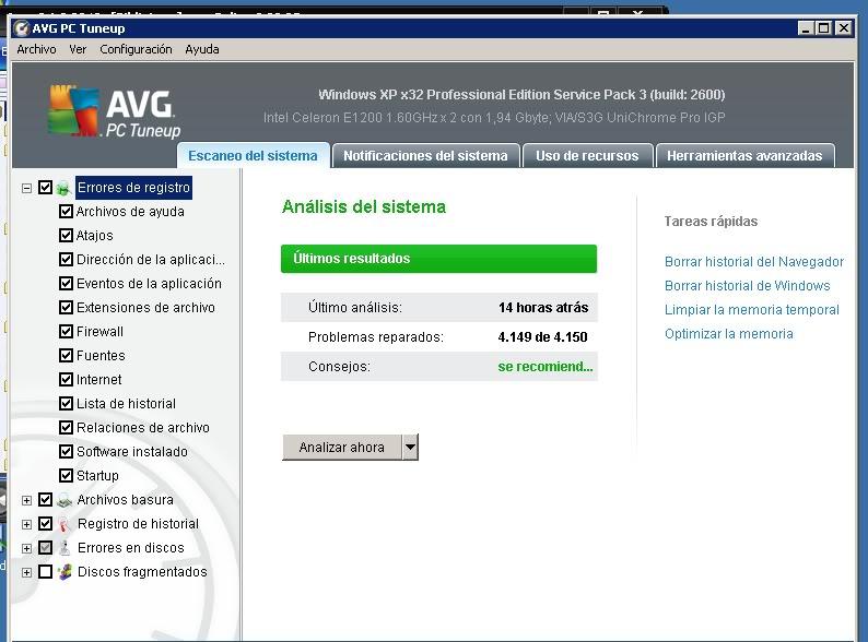 AVG Tuneup 2011+Serial[Español] Aasdasdffvvvv