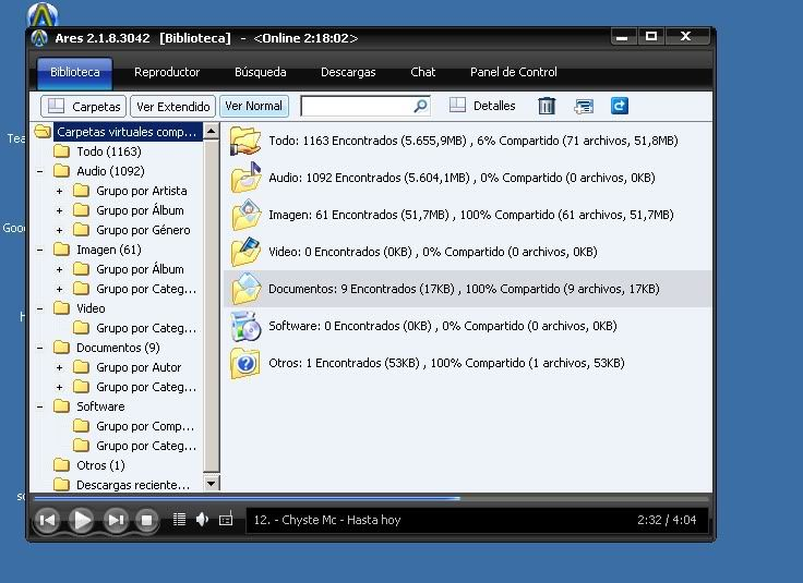Ares 2.1.8 [Version original] Asdsadadasd
